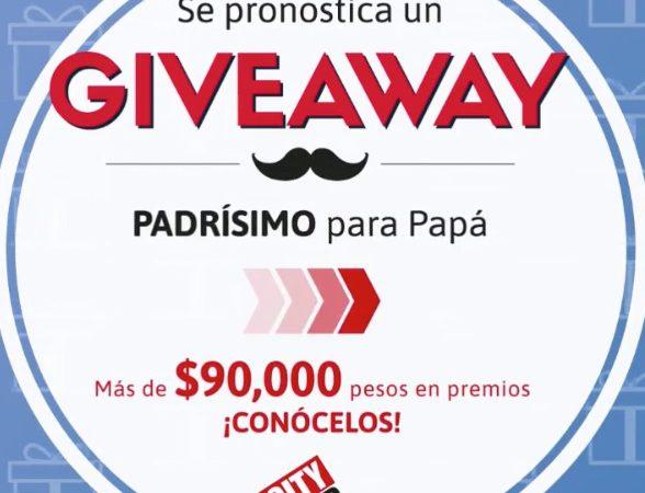 City Club celebrará a los papás con giveaway en IG