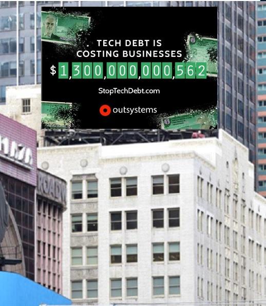 Estudio de OutSystems revela que la deuda técnica es una de las mayores amenazas para la innovación